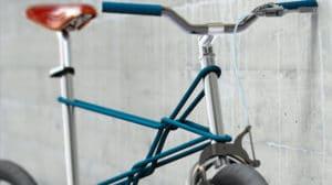 Koppla bike, un vélo tressé de métal