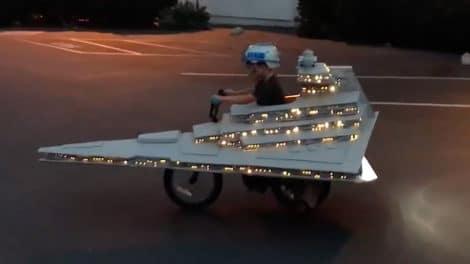 Il transforme un vélo en Croiseur interstellaire