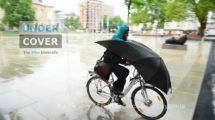 Under Cover un parapluie de vélo urbain