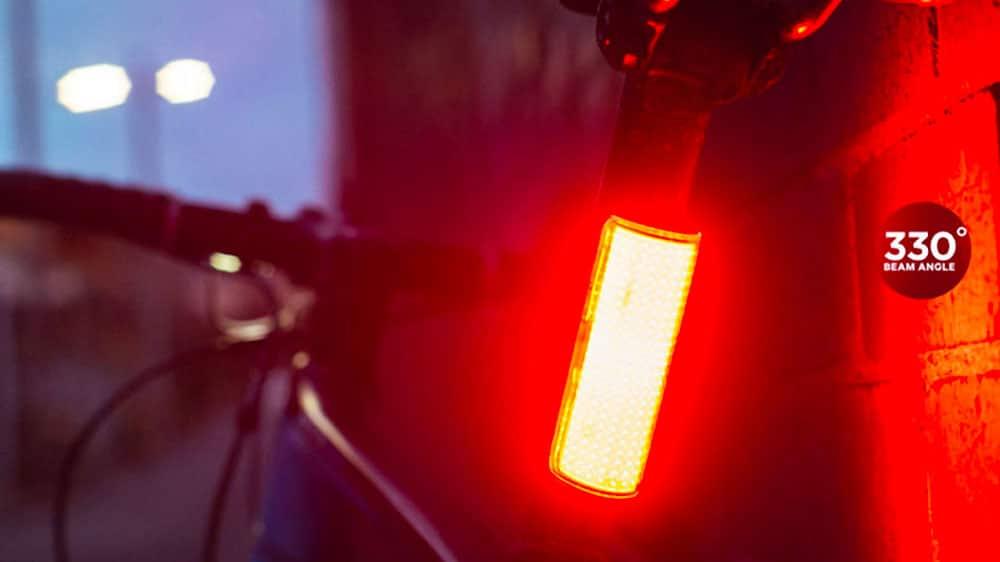 Eclairage velo Knog Cobber, diffusion de lumière à 330°