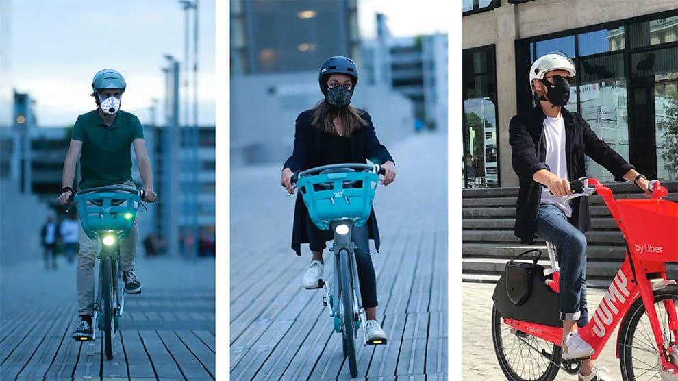 Masque antipollution Nano Light R-Pur dédié au vélo