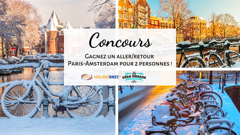 Gagnez un Aller/Retour Paris-Amsterdam pour 2 personnes