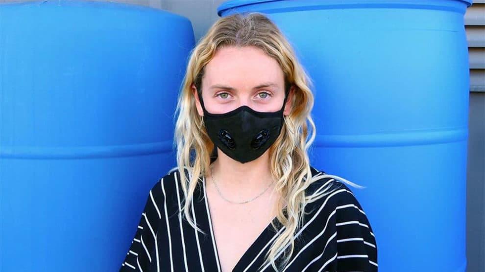 Masque anti polution Vogmask double valve