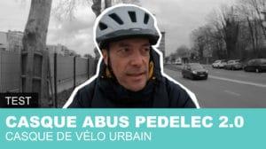 Découvrez le casque urbain Abus Pedelec 2.0