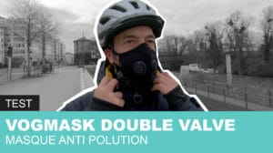 Masque anti polution Vogmask double valve