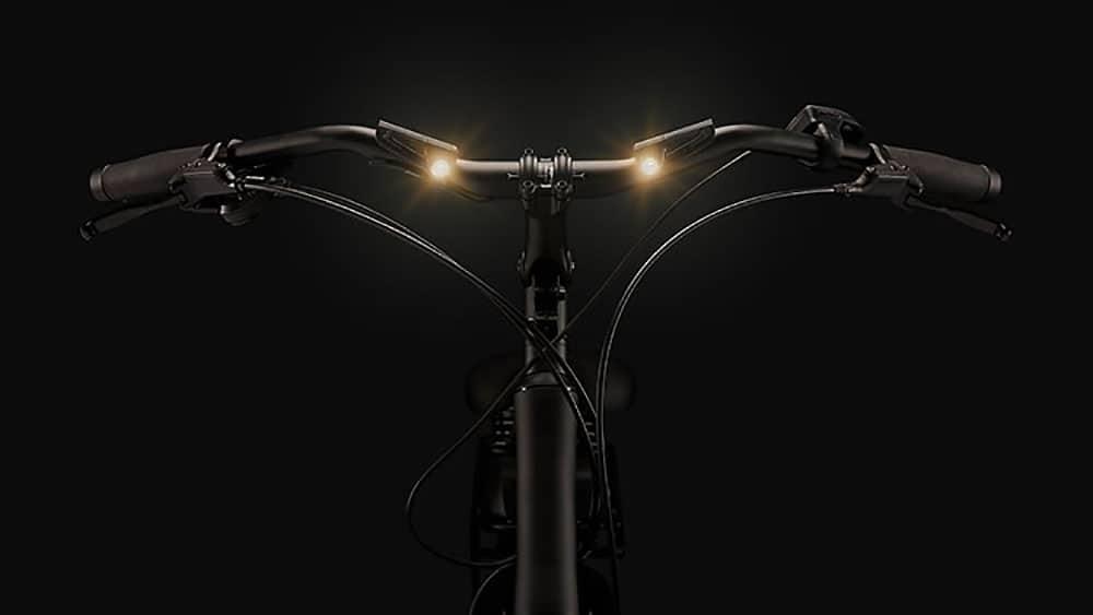 guidon de vélo connecté