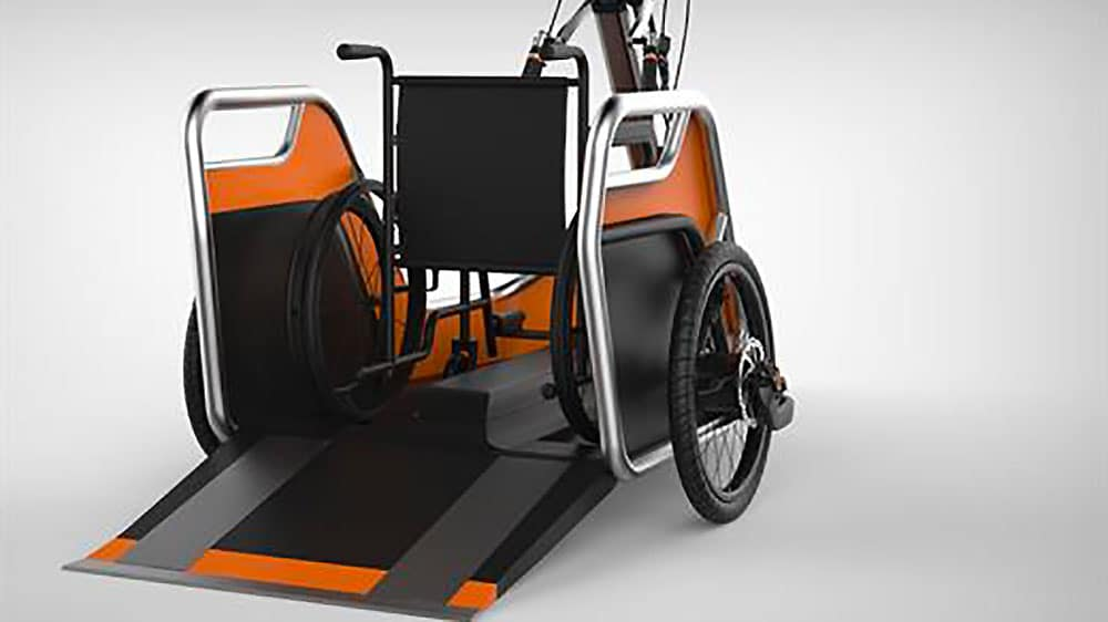 Benur vélo pour personnes à mobilité réduite