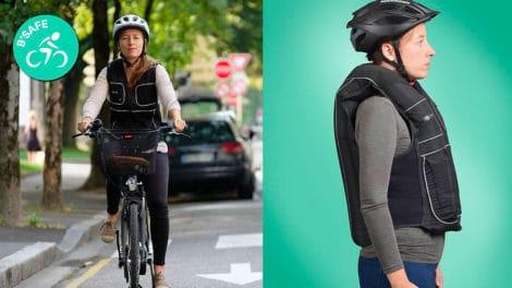 B'Safe airbag pour cyclistes