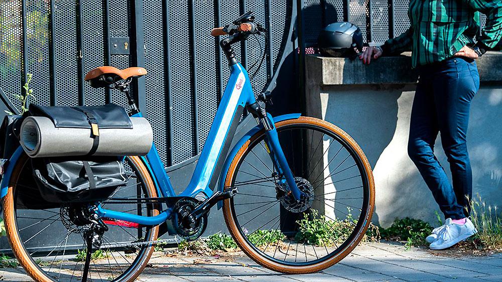 vélo urbain électrique