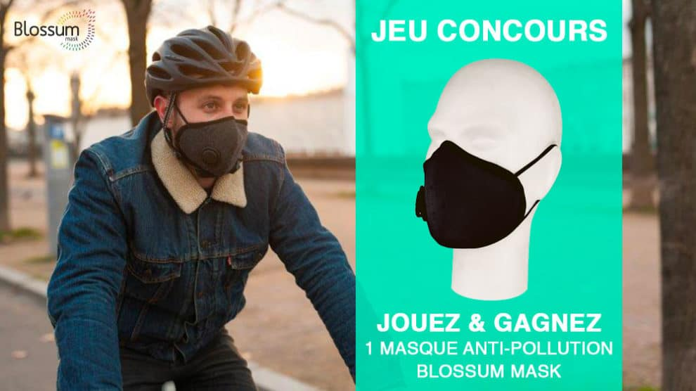 Gagnez un masque anti-pollution Blossum Mask