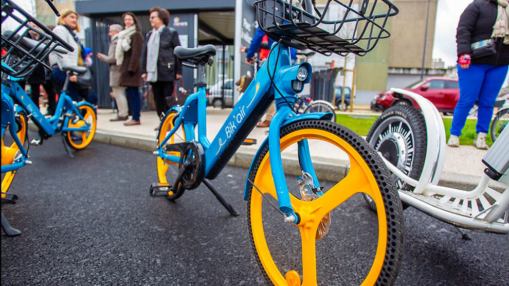 Des vélos électriques en libre-service à Nevers