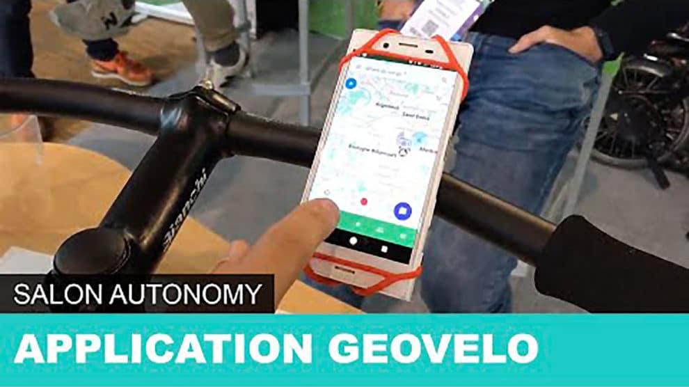 Geovelo, l'application des cyclistes