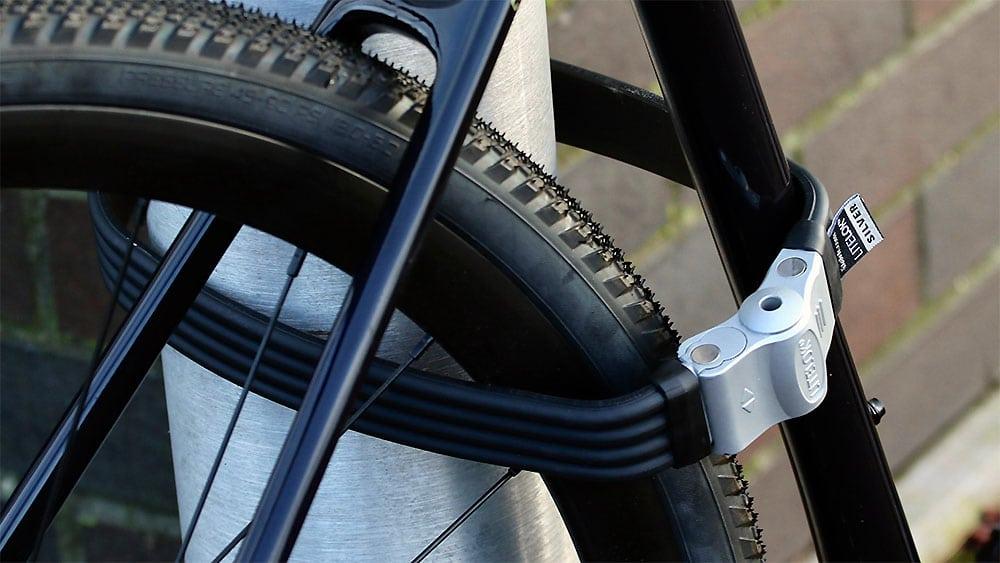 Litelok un antivol vélo en U plus flexible