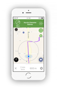application navigation velo