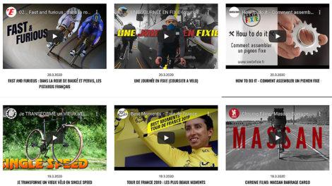 Journal de survie des cyclistes en confinement