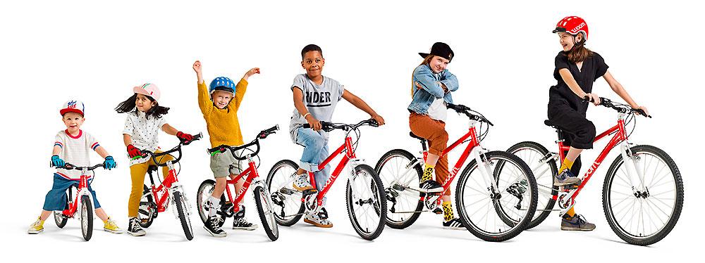 Woom Bikes vélos enfants