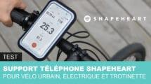 Support téléphone Shapeheart pour vélo