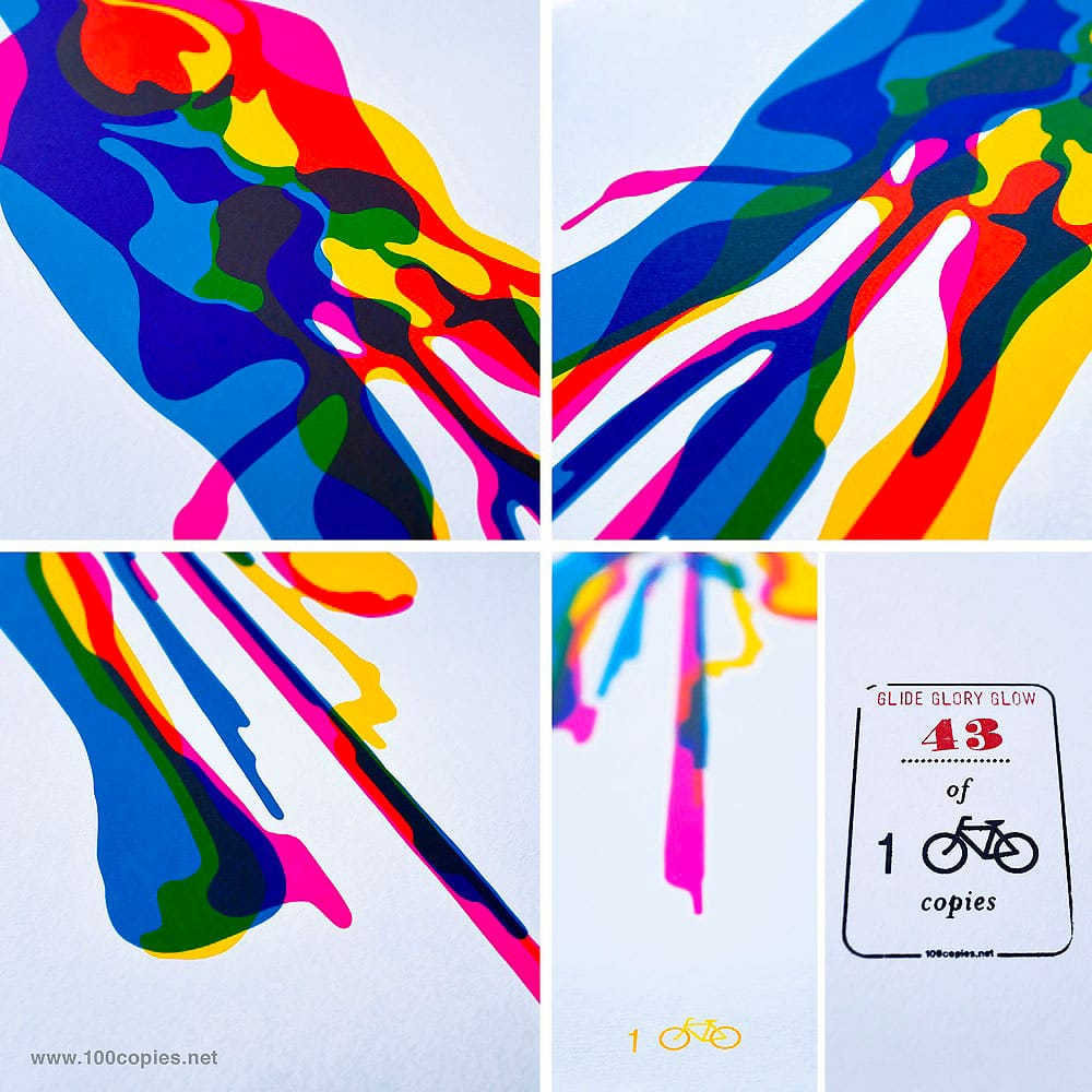 100copies New Bicycle Art