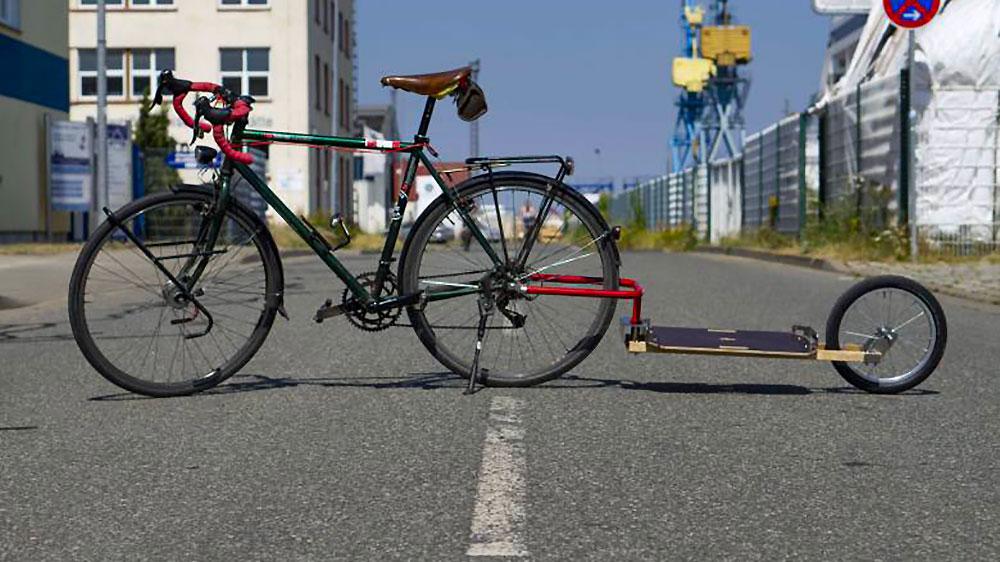 Remorque de vélo pliable Caméléon