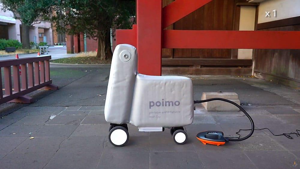 Vélo électrique gonflable Poimo