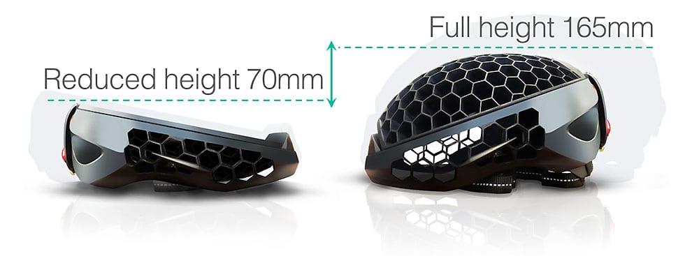 Cyclo One, le casque compressible !