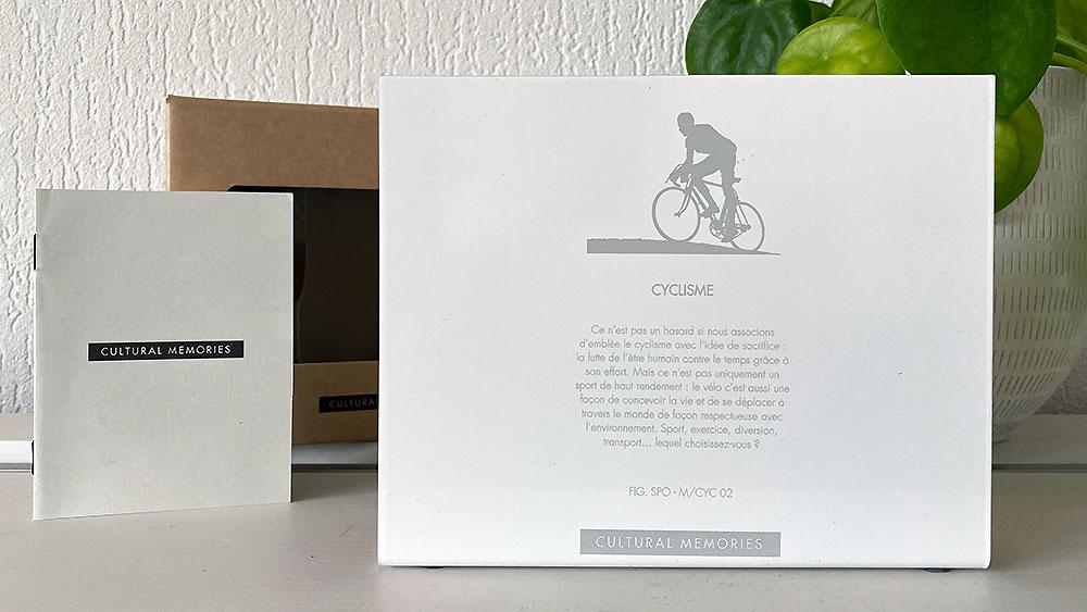 Dos de la figurines Cultural Memories Cyclisme 02