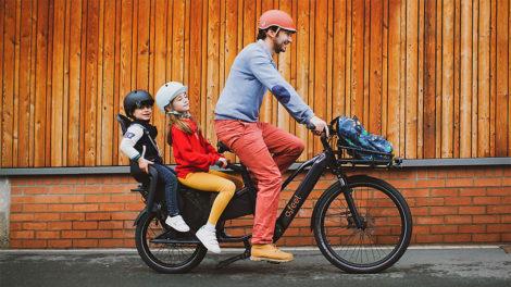 Vélo O2feel Equo Cargo Power