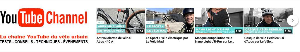 YouTube Le Vélo Urbain