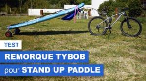 TYBOB, remorque vélo pour planches