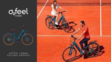 O2feel iSwan édition limitée Roland Garros