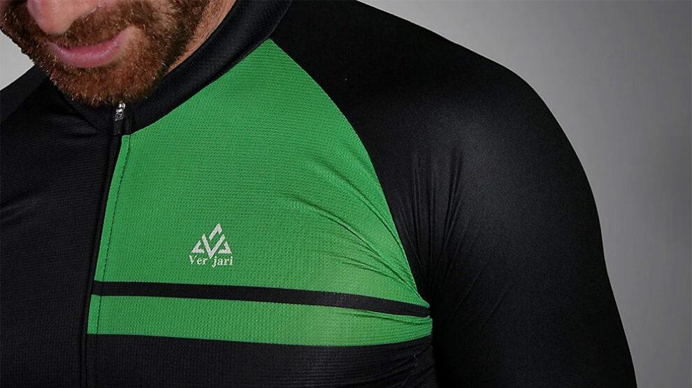 Nouveau maillot cycliste écologique Verjari