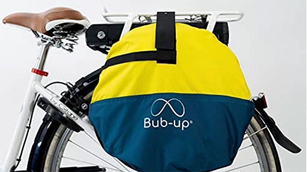 Bub-up, la protection de pluie vélo
