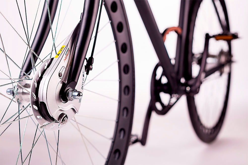 Vélo urbain Urbanized Bikes